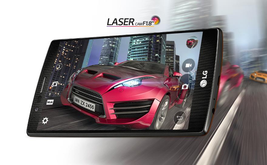 Камера с лазерным автофокусом и системой стабилизации OIS 2.0