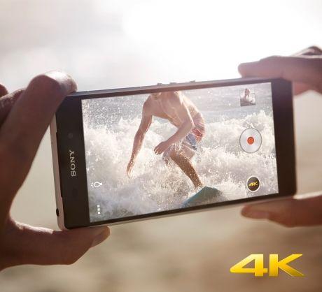 Снимайте видео в сверхвысоком разрешении 4K на Android-смартфон Xperia Z2 от Sony.