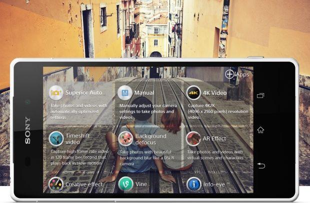 Для работы с камерой Xperia Z2 создано множество увлекательных инновационных приложений.